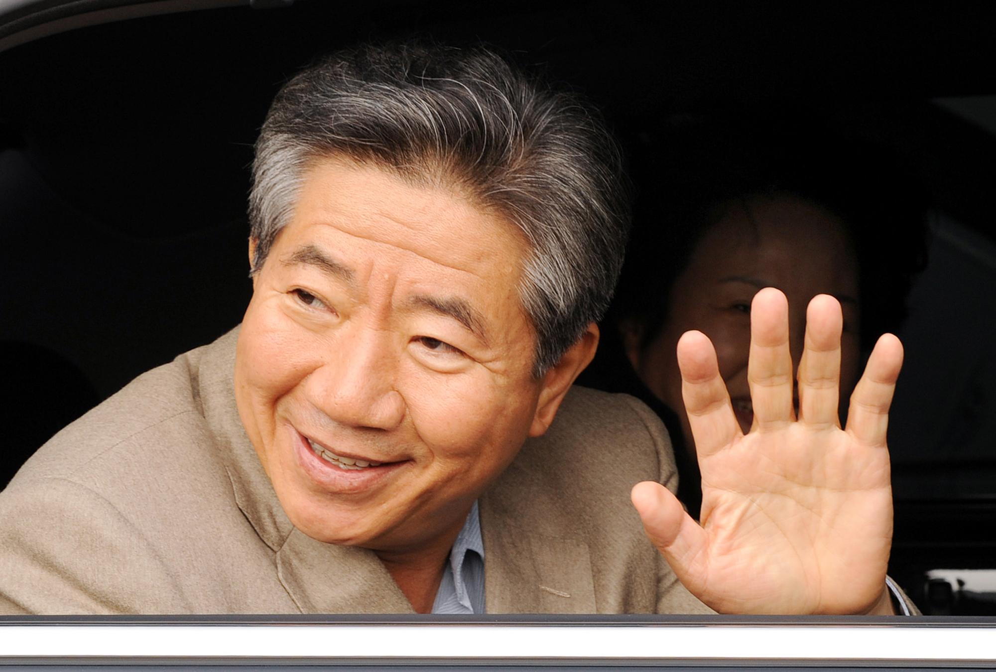 2008년 11월 25일 충남 논산을 민생탐방 차 방문했던 노무현 전 대통령. 김성태 프리랜서