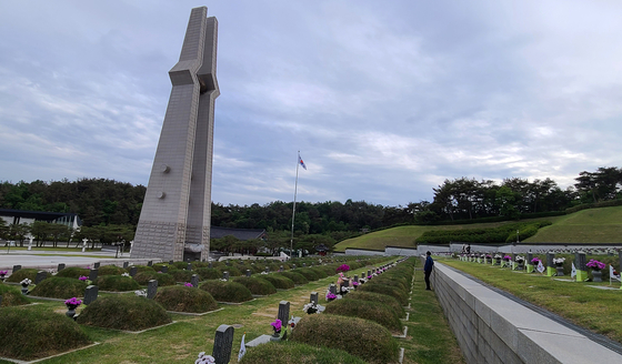 국립 5ㆍ18 민주묘지. 5ㆍ18 민주화운동 희생자가 영면하는 현장이다. 손민호 기자