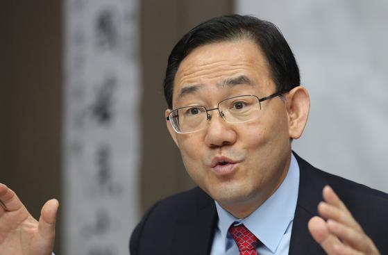 주호영 의원, 연합뉴스
