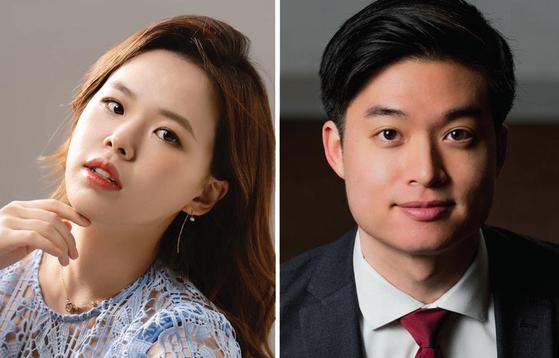 소프라노 김효영(左), 테너 듀크 김(右)