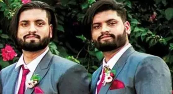 하루 간격으로 사망한 그레고리 쌍둥이 형제. 더 타임스 오브 인디아 보도 캡처
