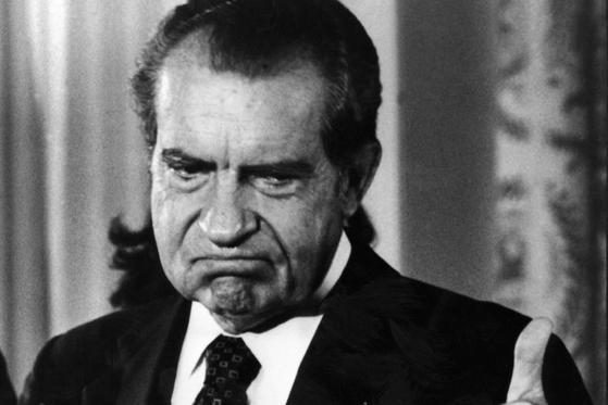 미국의 37대 대통령, 리처드 닉슨. [중앙포토]