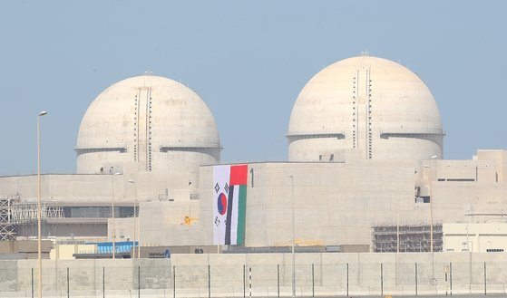 UAE에 건설한 한국형 원전 바라카 1호기.[연합뉴스]