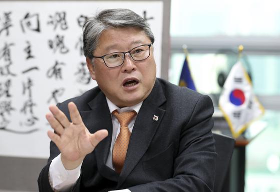 조원진 우리공화당 대표. 임현동 기자