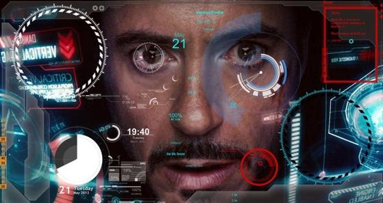 SF영화 아이언맨에 나오는 인공지능 비서 자비스는 주인공의 모든 명령을 알아듣고 실행해주는 복합지능형 인공지능 비서다. [사진 영화 아이언맨 캡처]