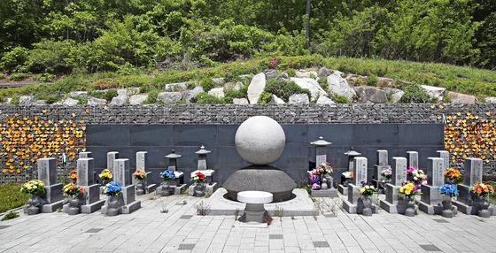 위안부 피해자들의 유골함이 봉안된 경기도 광주 퇴촌면의 나눔의집 추모공원. 우상조 기자