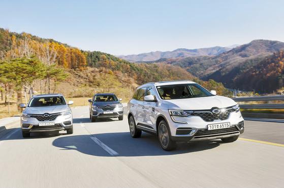 국내 유일 LPG SUV인 QM6 LPe. LPG 차량의 단점을 극복하고 높은 완성도와 가성비로 르노삼성의 효자 역할을 하고 있다. [사진 르노삼성]