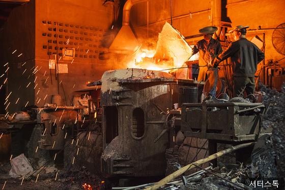 철광석 가격 급등으로 중국 소규모 업체들이 위기를 맞고 있다. [사진 셔터스톡]