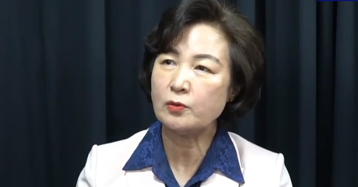 추미애 전 법무부 장관이 28일 유튜브 채널 열린민주당TV에 출연했다. 유튜브 캡처