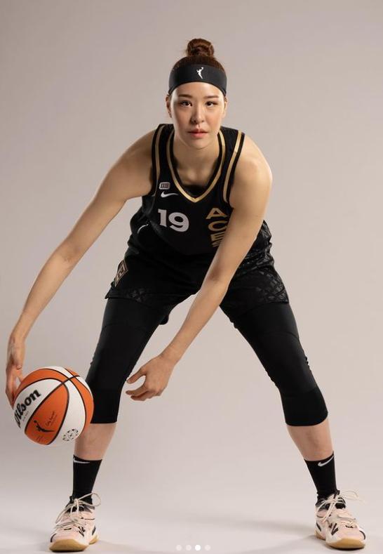 WNBA 라스베이거스 박지수. [사진 박지수 인스타그램]