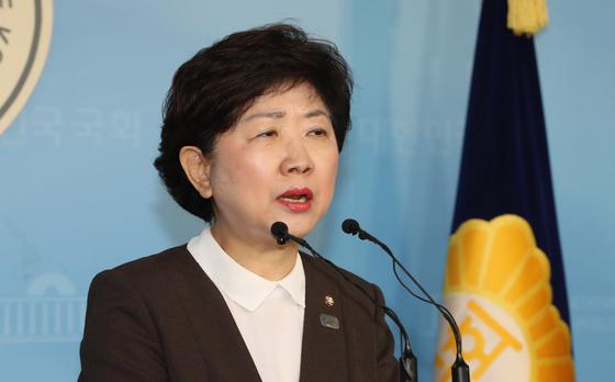 박인숙 전 미래통합당 의원 [연합뉴스]