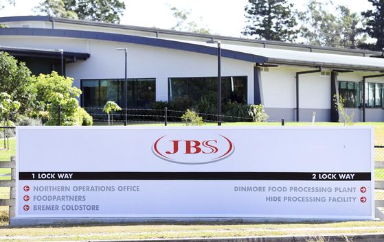 브라질 상파울루에 본사를 둔 정육업체 JBS SA가 최근 랜섬웨어 공격을 받고 북미와 호주의 일부 공장 운영을 중단했다고 지난달 31일(현지시간) 밝혔다. [AP=연합뉴스]