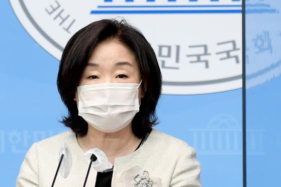 심상정 정의당 의원. 연합뉴스