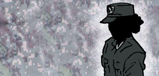군 내 성폭력 사건이 불거질 때마다 군 당국은 특단의 대책이라며 제도 개선을 발표한다. 하지만 현실은 잘 바뀌지 않는다. 보다 근원적인 대책이 필요하다는 목소리가 높아지고 있다. [일러스트=김회룡 기자]