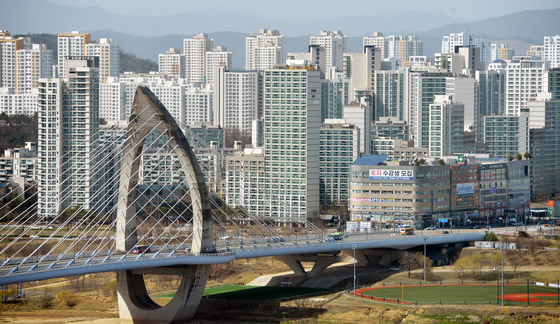 최근 공무원 특별공급으로 논란을 일으킨 세종시 아파트 전경. 프리랜서 김성태