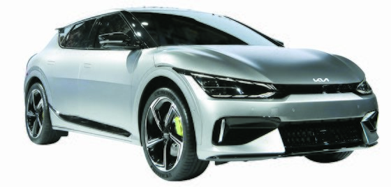 다음달 출시하는 기아의 첫 전용 전기차 EV6. 사진 기아