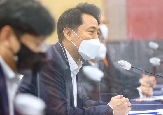 오세훈 서울시장, 연합뉴스