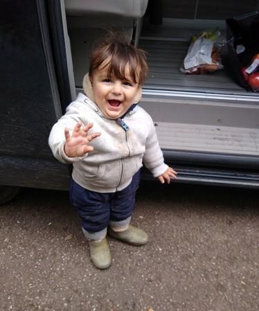 영국해협을 건너다 사망한 두 살배기 유아 아르틴 이라네저드. [로이터=연합뉴스]