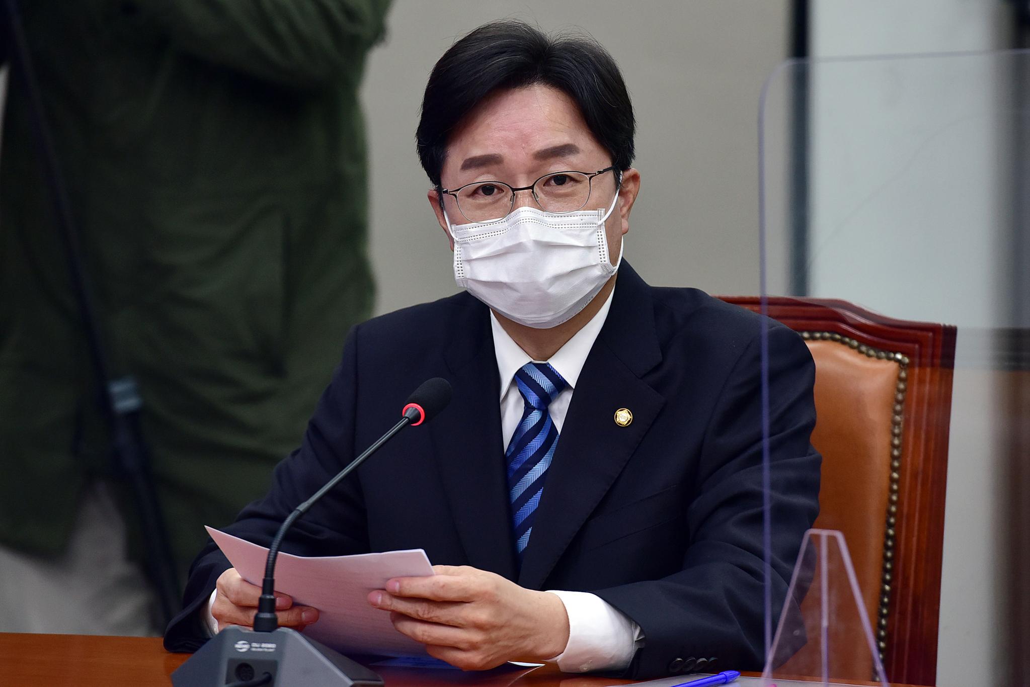 강병원 더불어민주당 최고위원. 오종택 기자