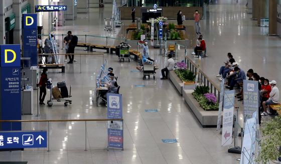 4일 오전 인천국제공항 1터미널 입국장의 모습. 뉴스1