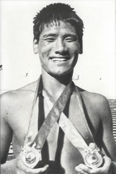 1970년 방콕 아시안게임에 출전했던 조오련. [사진 대한체육회]