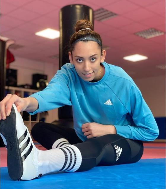 이란의 키미아 알리자데(왼쪽)는 리우올림픽에서 동메달을 땄다. [사진 알리자데]