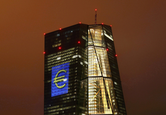 독일 프랑크푸르트 소재 유럽중앙은행 본부. 로이터=연합뉴스