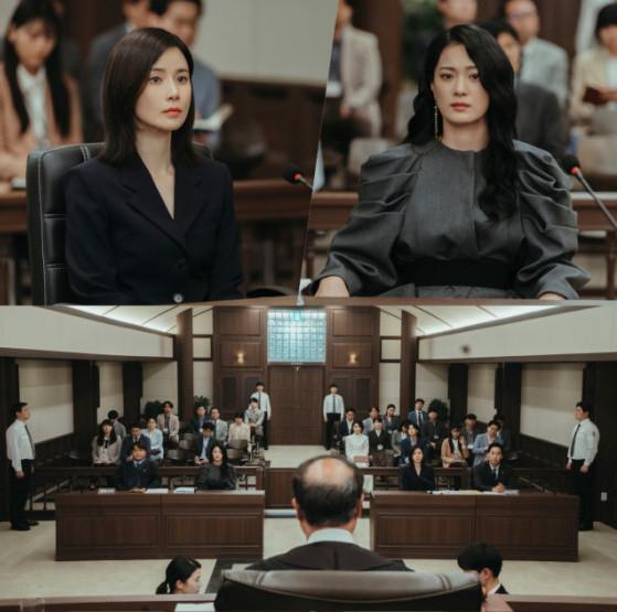 유아 인도 청구 소송 장면이 등장한 드라마 '마인'. [사진 tvN]