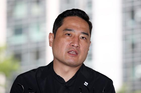 강용석 변호사. 연합뉴스