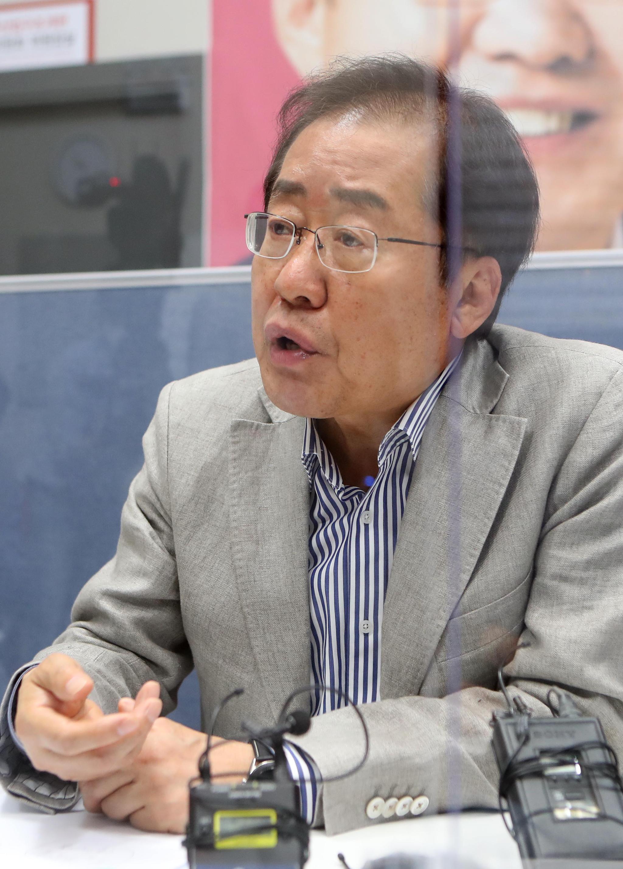 홍준표 무소속 의원. 연합뉴스