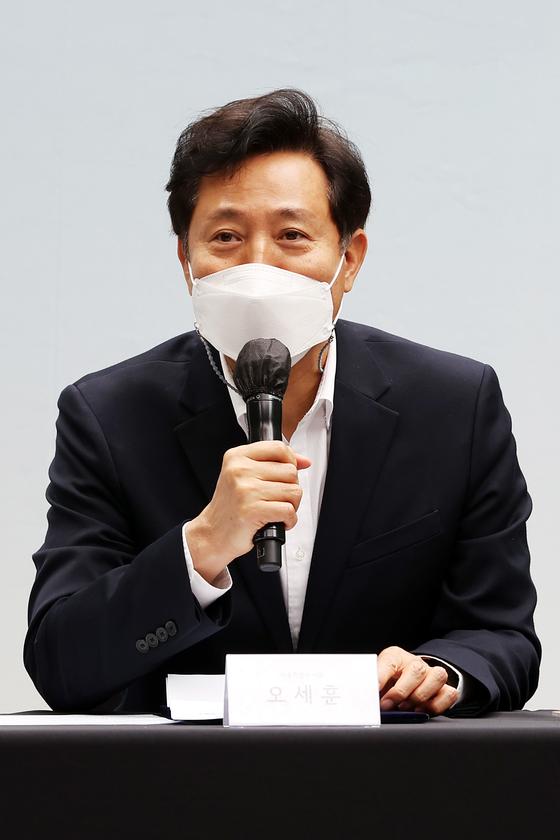 오세훈 서울시장.뉴스1