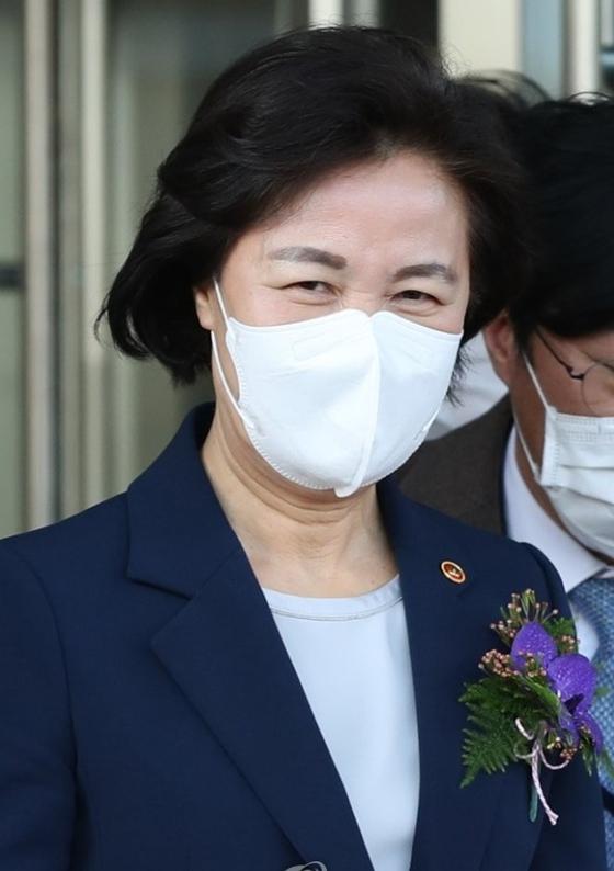 추미애 전 법무부 장관. 연합뉴스
