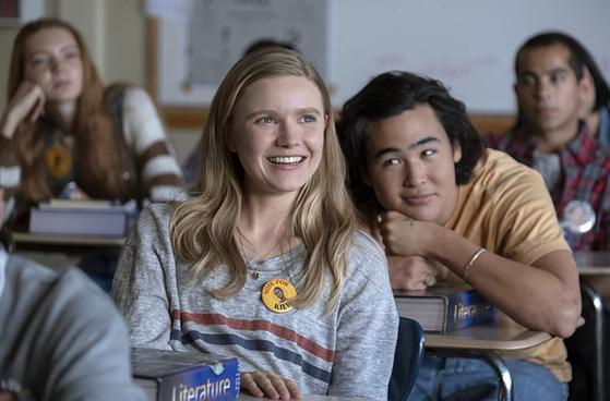 록포트 고교 11학년 학생 비비안(왼쪽)은 내성적인 성격으로 버클리 대학 진학을 목표로 하고 있다. [사진 넷플릭스]