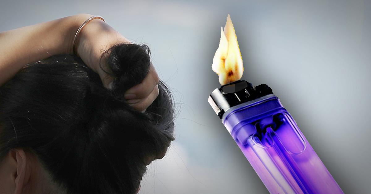 화가 난 아내가 잠든 남편의 머리에 라이터로 불을 붙여 중상을 입히는 일이 발생했다. 중앙포토·연합뉴스