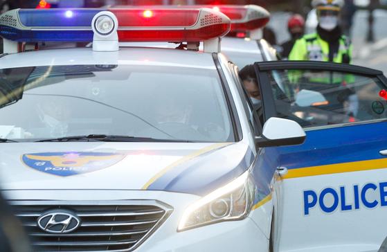 경찰차. 뉴스1