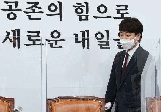 이준석 국민의힘 대표. 사진공동취재단