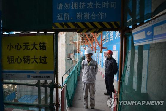 중국 광동성 타이산 원자력 발전소의 2013년 모습. 이 원전 운영사인 프랑스 업체는 해당 원전에서 방사능이 누출되고 있다고 미국 정부에 신고했다. [AFP=연합뉴스]
