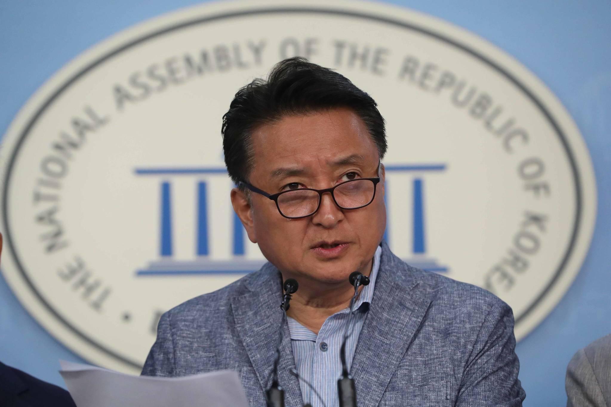 김영환 전 국회의원. 중앙포토