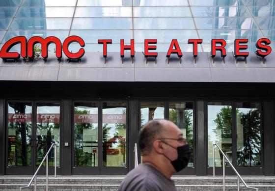 미국 영화관 체인 AMC 극장. 연합뉴스