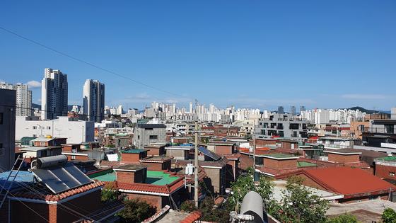 공공재개발 후보지로 선정된 서울 성북구 장위 9구역의 모습. 한은화 기자