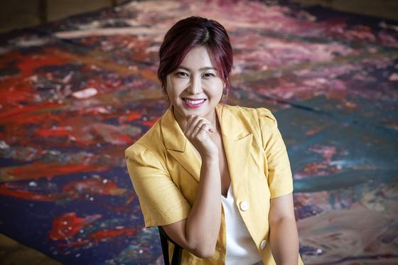 가수 솔비. 장진영 기자