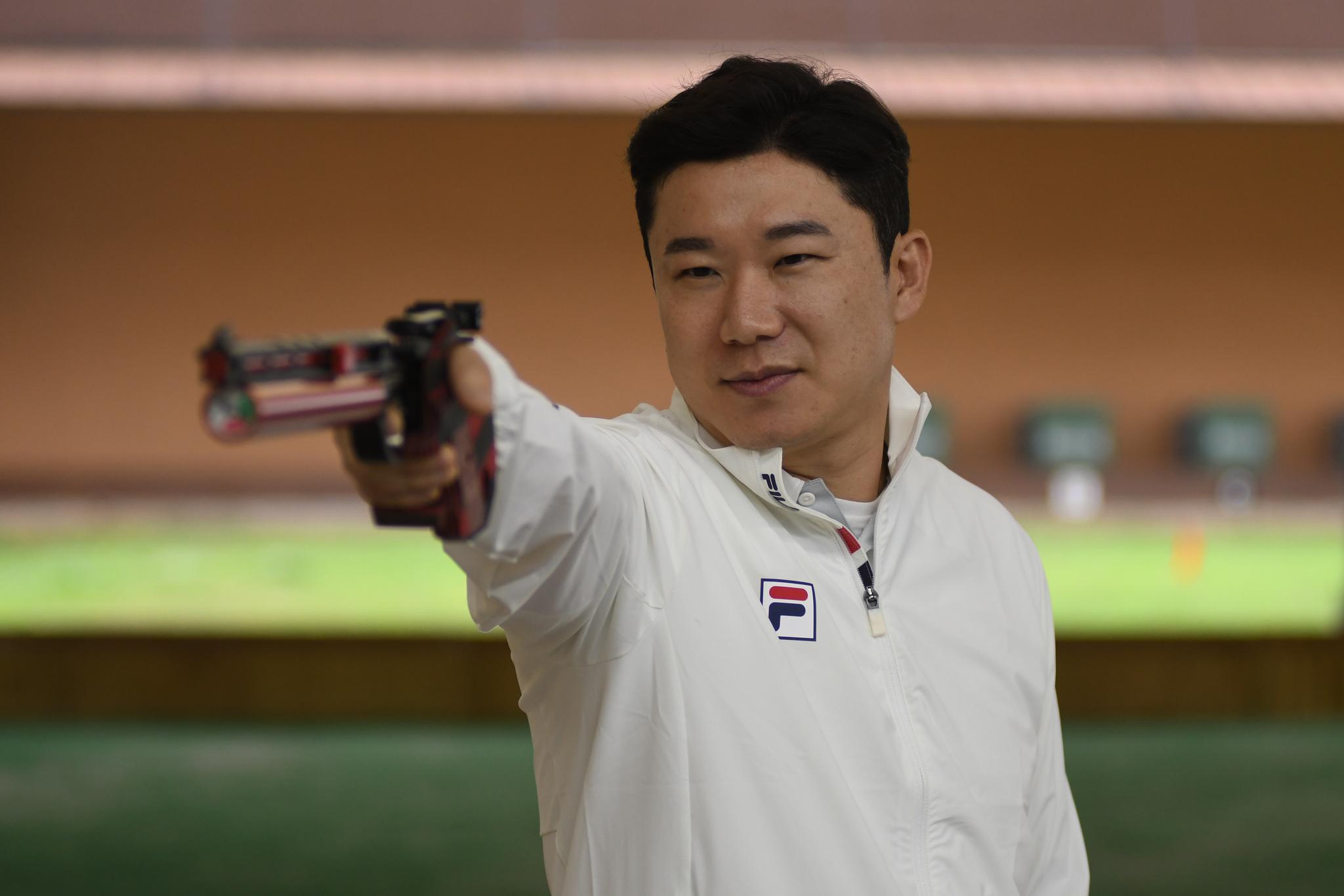 5번째 올림픽을 앞둔 권총황제 진종오. [사진 대한사격연맹]