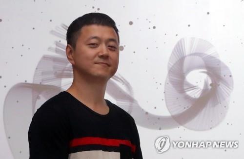 문재인 대통령의 아들 미디어아트 작가 준용씨. 연합뉴스