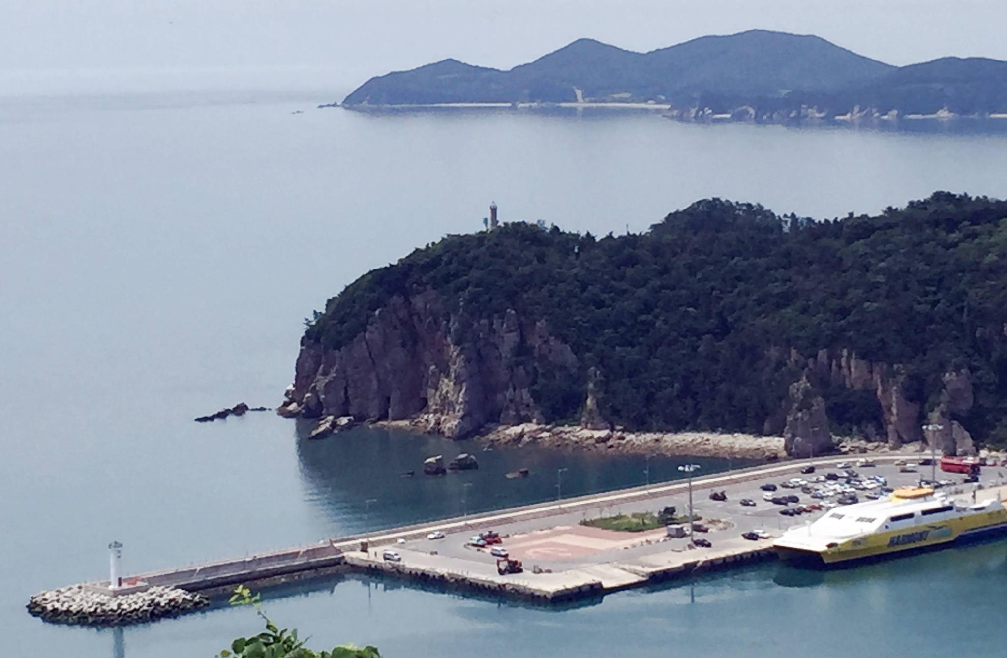 백령도 용기포항. 사진 인천지방해양수산청
