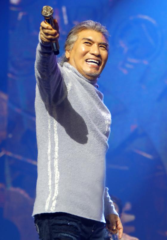 다음 달 대구에서 '어게인 테스형' 콘서트를 여는 가수 나훈아. [사진 예아라ㆍ예소리]