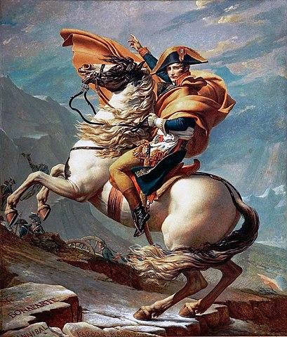 보나파르트 나폴레옹이 원정대를 이끌고 이탈리아를 정복한 것이 27세 때다. 10년 뒤 그는 30 중반의 나이에 프랑스 대통령으로 추대된다. [사진 Wikimedia Commons]
