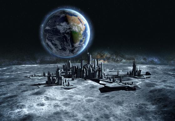 '마션'의 작가가 달의 도시 아르테미스에서 벌어지는 사건을 다룬 '아르테미스'를 펴냈다. [사진제공=RHK]