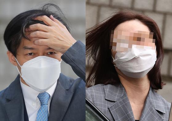 조국 전 법무부장관(왼쪽)과 부인 정경심 동양대 교수. 연합뉴스·뉴스1