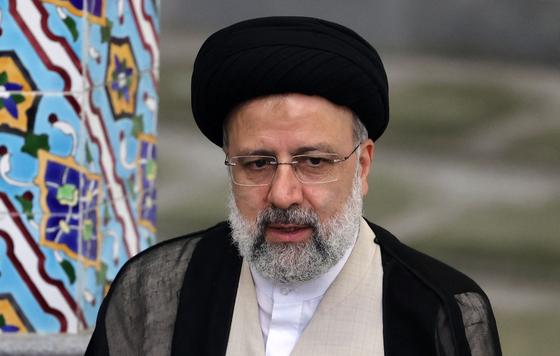 이란의 제13대 대통령으로 당선된 에브라힘 라이시.AFP=연합뉴스