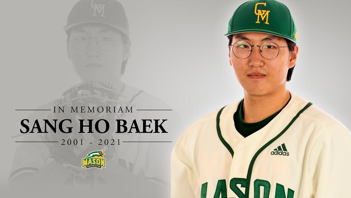 한국계 20세 야구선수 사망…조지메이슨대 투수 백상호 씨